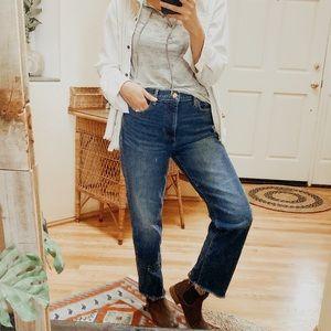 Banana Republic Mid Rise Vintage Straight Leg Jean